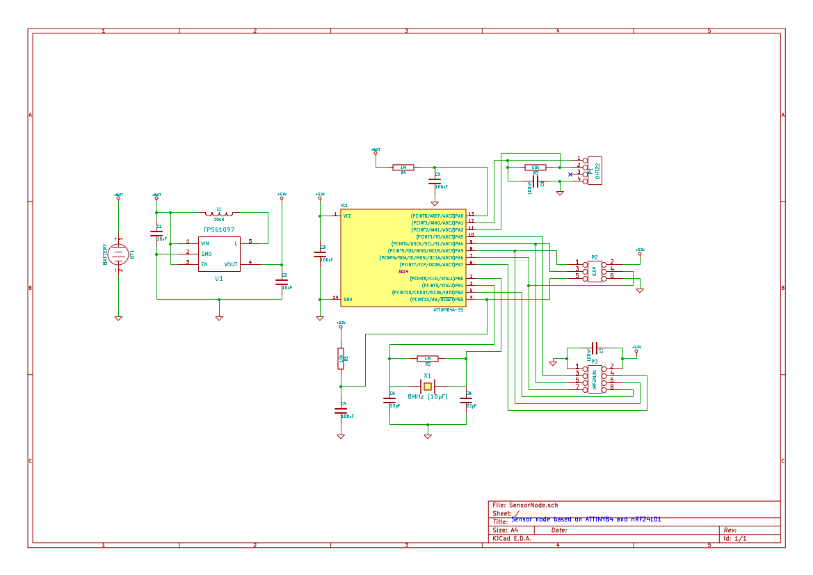 Projects The Ramblings Of Atbrask 433mhz Receiver Circuit Esp8266 Copy Schematic For Sensor Nodes