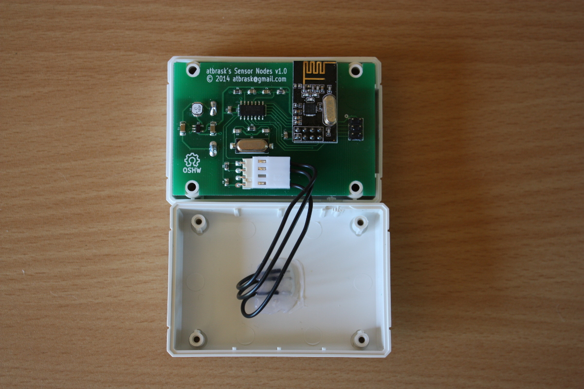 RPIWeather: My wireless monitoring system – The ramblings of atbrask