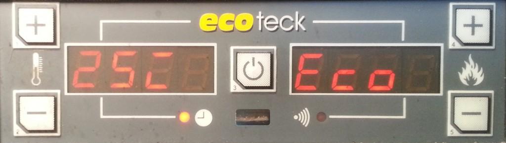 Ecoteck Francesca front panel