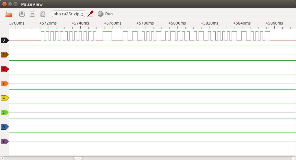 Signal sample